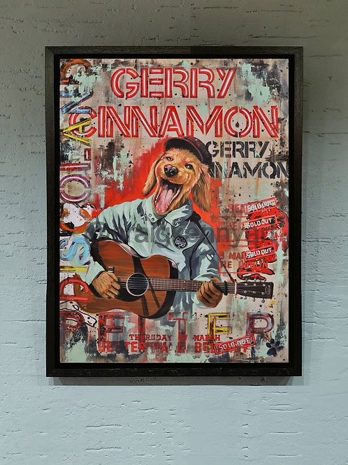 """Gerry Cinnamon """" He is a belter """" limited edition"""