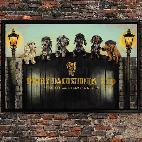 'Peaky Dachshunds Ltd'