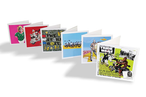 6pk of greeting cards (blank inside)