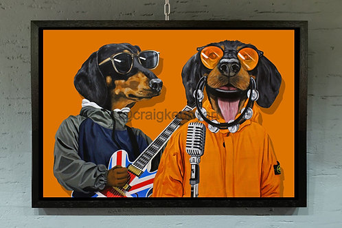 definitely maybe dachshunds - limited edition