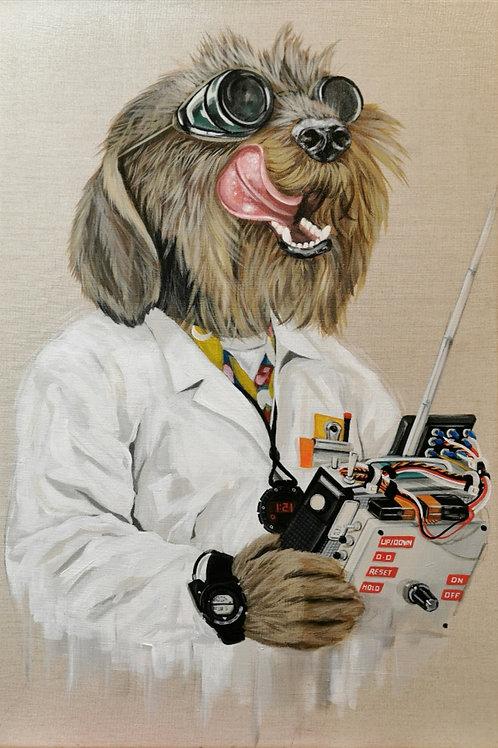 'Mad Doc' original painting