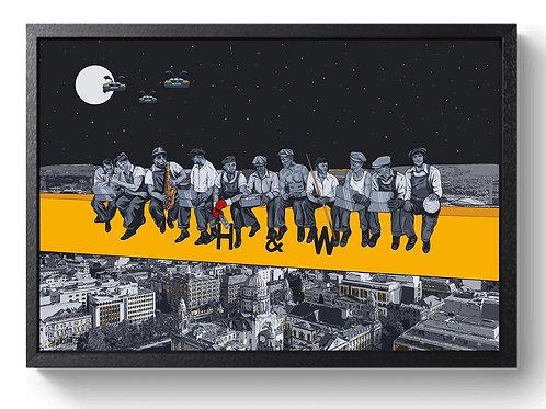 """Moondance"" - Framed Canvas"