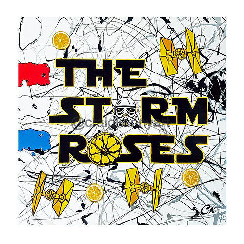 'THE STORM ROSES' 1/25 Giclee print