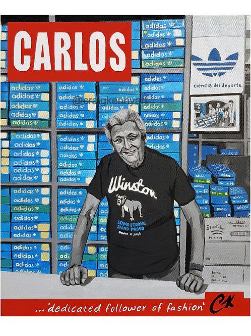 Carlos Ruiz A2 Giclee print