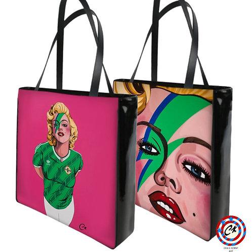 'Belle of Belfast City' Luxury shopper handbag