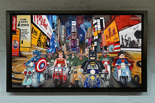 marvel dc heroes new York city