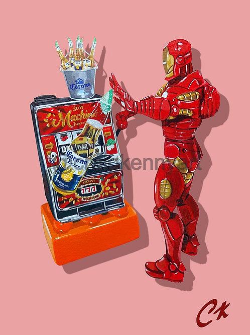'Iron Machine' giclee print