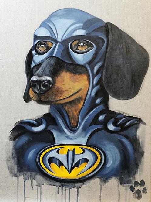 'Batman' original painting