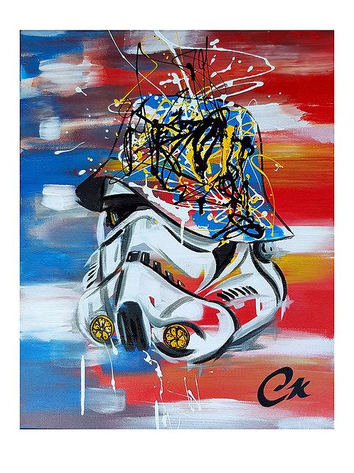 'Stone Trooper' 1/10 Giclee print