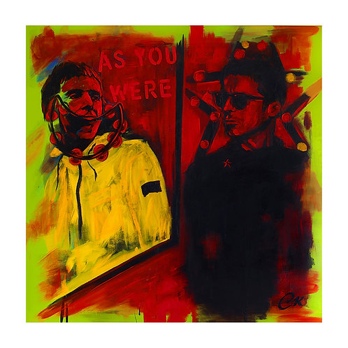 'Don't Look Back in Anger' 1/25 Giclee print
