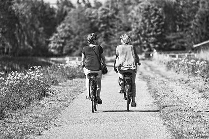 women on bikes bandw.jpg