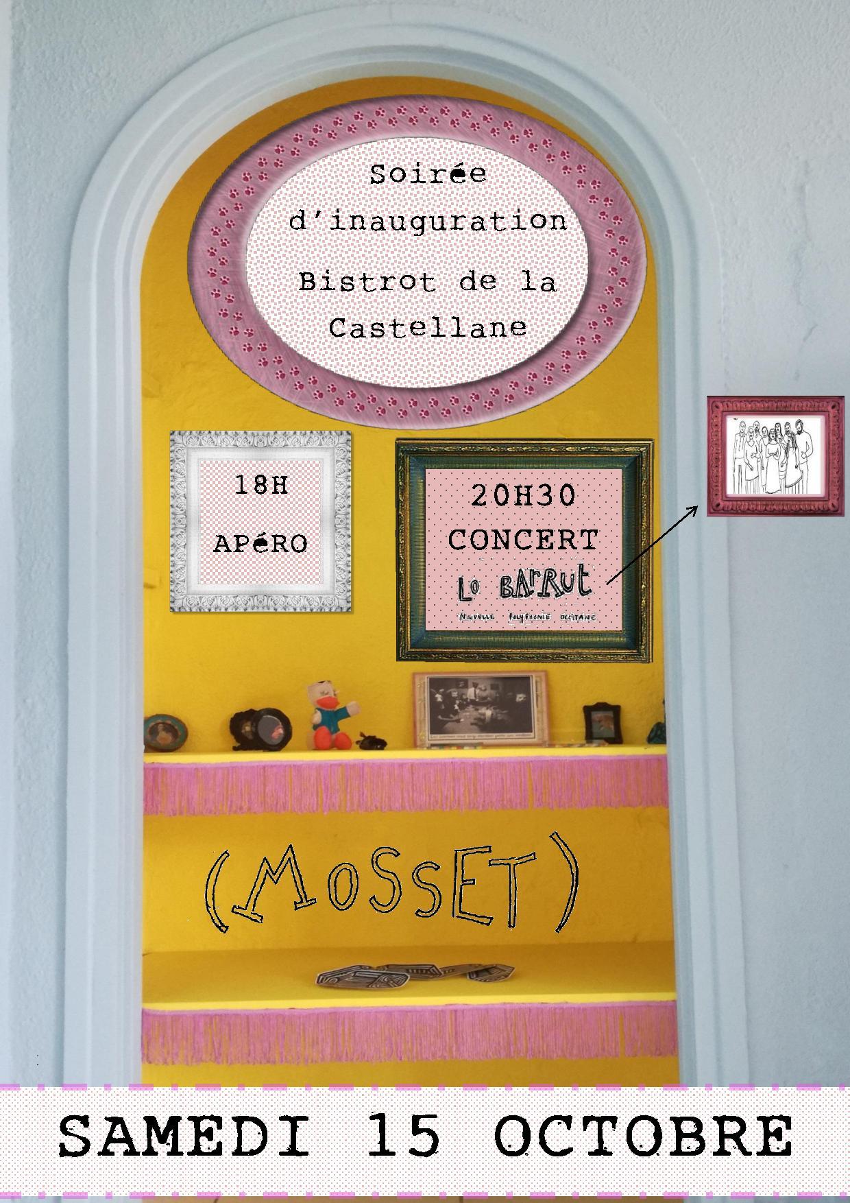 Affiche inauguration