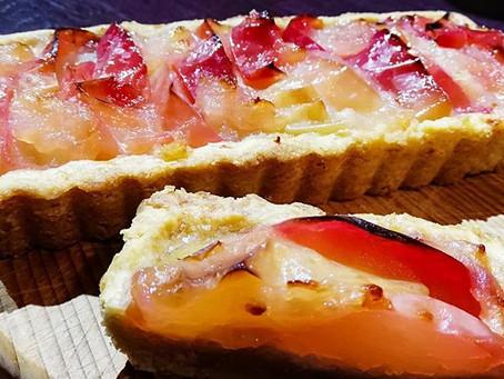 焼きりんごのタルト