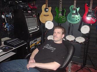 DJ Brett Brisbois Studio