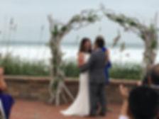 Outdoor Wedding Ceremony Harbour House Oceanfront Venue
