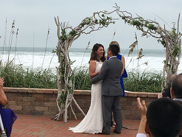 Outdoor Wedding Ceremony Harbour House Oceanfront Venue