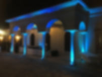 Custom Up-lighting, uplights, Brett Brisbois Events, DJ, Florida