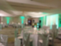 Courtyard by Marriott Galaxy Ballroom Cocoa Beach, Brett Brisbois Events, Up lighting, DJ Services