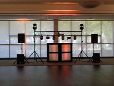 DJ Lighting system, Brett Brisbois Events