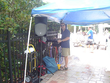 Brett Brisbois Events DJ Entertainment Poolside Omni Resort, Orlando