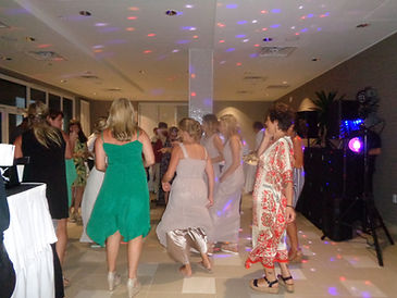 Wedding DJ, Hilton Melbourne Beach Oceanfront, Brett Brisbois Events, Dancing, Party