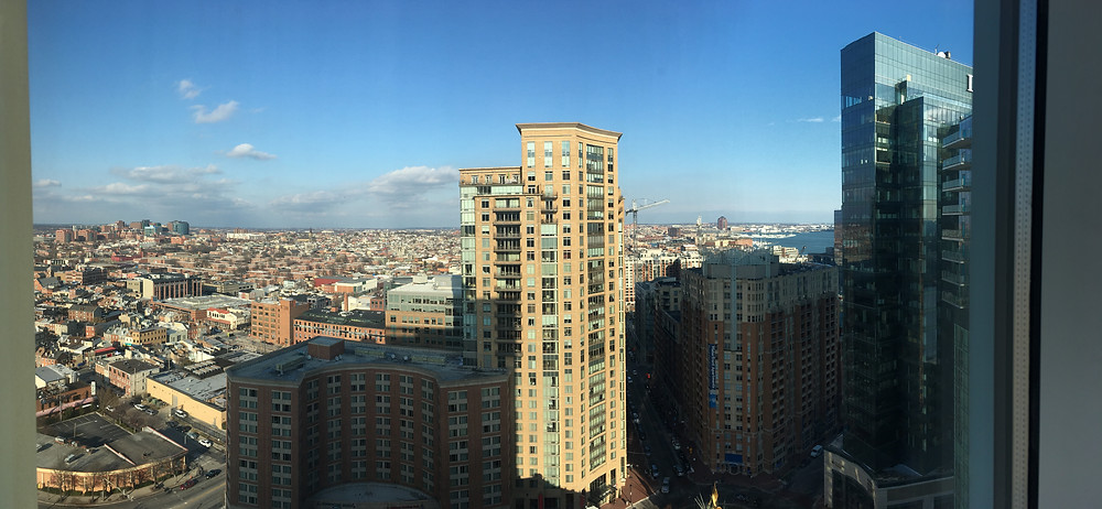 Hotel View of Baltimore