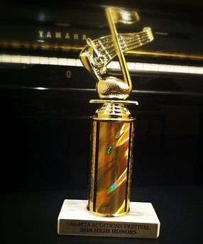 Auditions Festival Honors Trophy