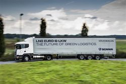 VW to deploy LNG-fueled trucks in north Germany
