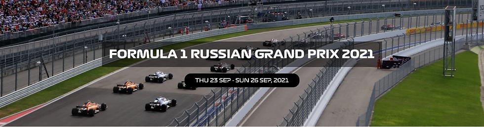 Russian Formula 1 Grand Prix Buy Paddock Club passes and F1 tickets