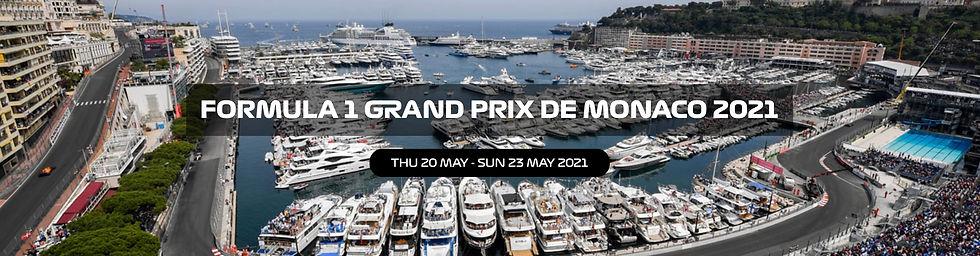 Monaco Formula 1 Grand Prix Buy Paddock Club passes and F1 tickets