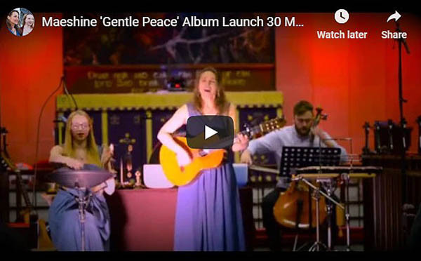 Excerpts from Maeshine 'Gentle Peace' Album Launch. Click the image to watch
