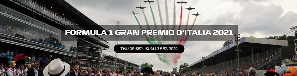 Italian Formula 1 Grand Prix Buy Paddock Club passes and F1 tickets