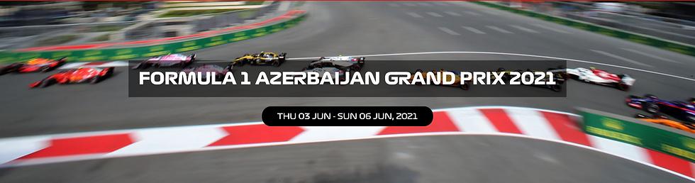 Azerbaijan Formula 1 Grand Prix Buy Paddock Club passes and F1 tickets