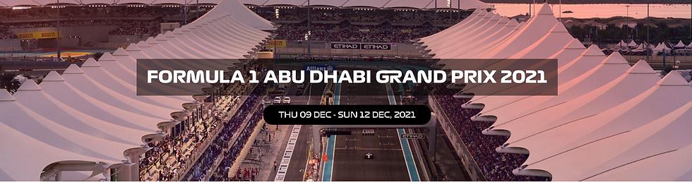 Abu Dhabi F1 tickets Formula 1 VIP tickets Abu Dhabi paddock club passes
