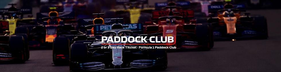 BUY 2021 SAUDI ARABIA F1 PADDOCK CLUB TICKETS