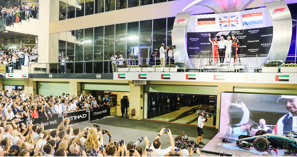Podium Ceremony Access Saudi Arabia F1. F1 Paddock Club Saudi Arabia. VIP Saudi F1.
