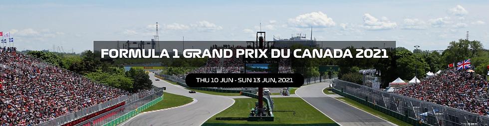 Canadian Formula 1 Grand Prix Buy Paddock Club passes and F1 tickets