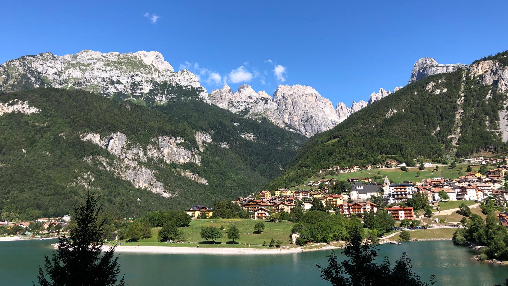 Dolomiti di Brenta e lago di Molveno