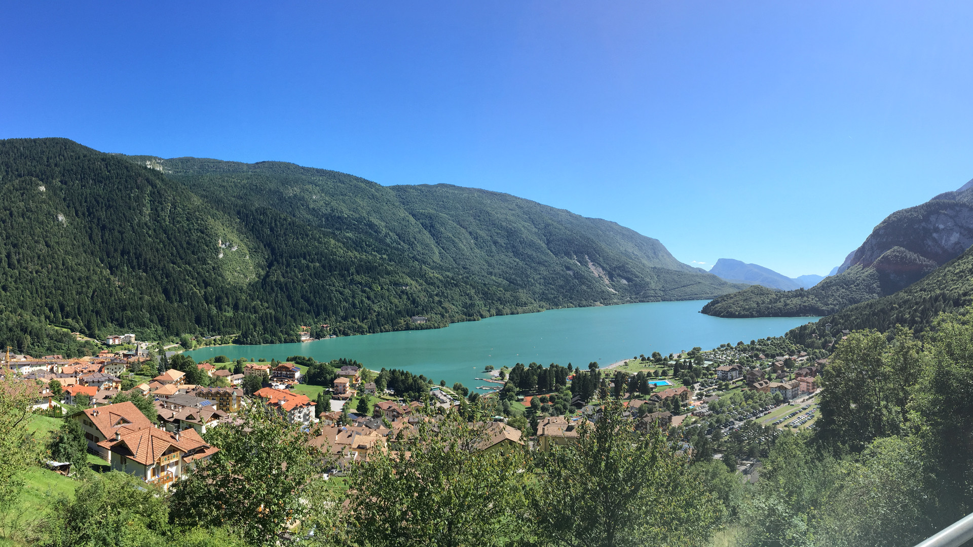 Panoramica Lago di Molveno
