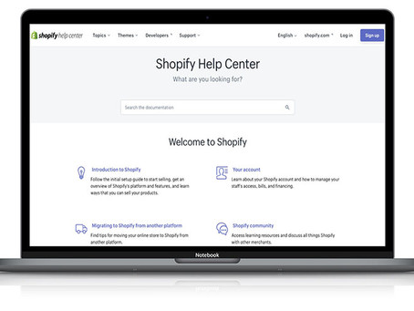 Shopify Help Centre and Support