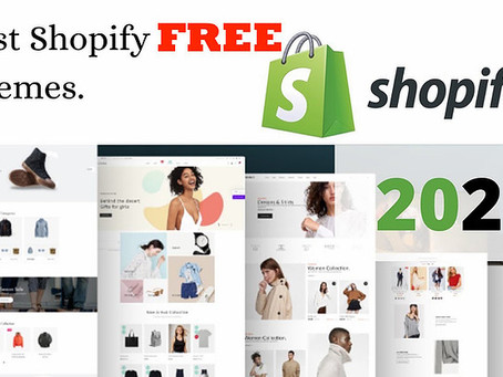 Top 10 Free Shopify Themes for 2021