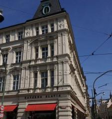 プラハのカフェ、カフェ・スラヴィアで