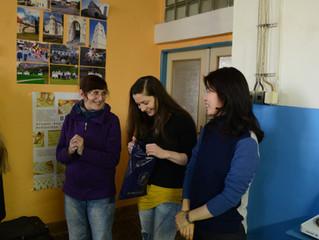 チェコの藍染め研修・日チェコ交流事業の任務完了