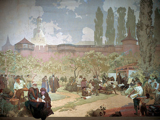 ミュシャの最高傑作《スラヴ叙事詩》 ついに来日!(その9)イヴァンチツェの想い出