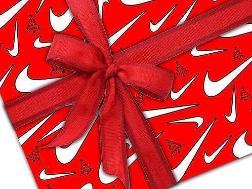 Nike Gift Wrapping paper