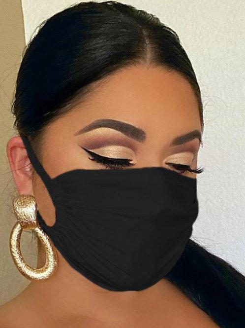 Black Fashionable Face Mask