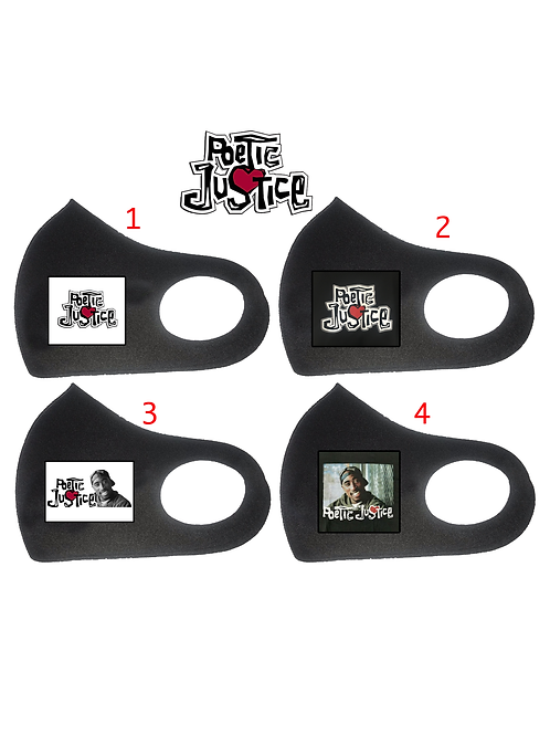 Poetic Justice Fashion Face Masks