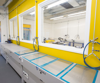 composite curing room
