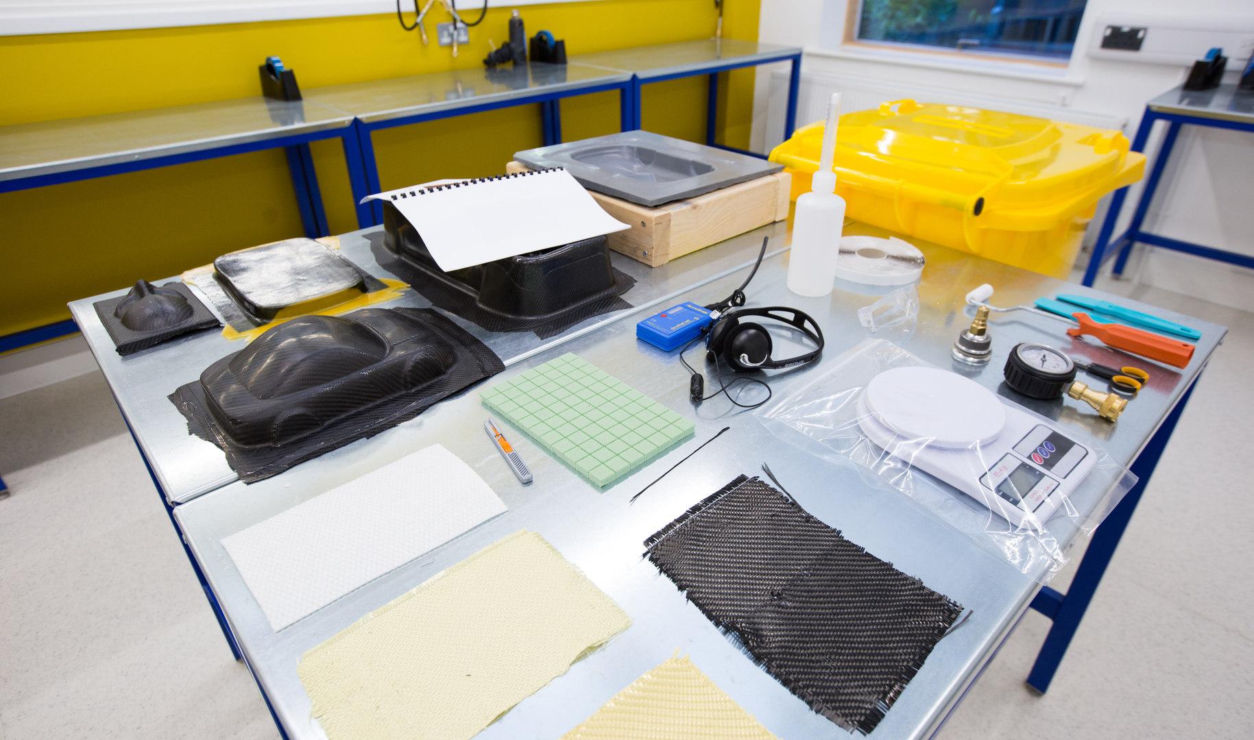 various composite materials
