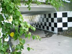 Gång- och cykeltunnel i Sollentuna